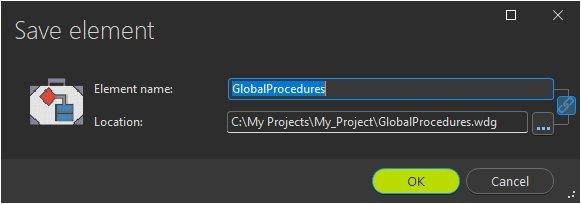 New global procedure